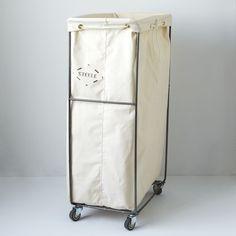 Narrow Elevated Laundry Basket