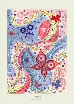 Hannah Dunnett Freedom Print
