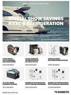 Dometic Boat Show Season Rebates