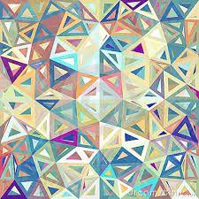 behang met driehoeken - Google zoeken
