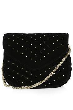 Velvet Crossbody Bag || TOPSHOP || $53.85