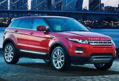 Rand Rover Evoque Vermelho
