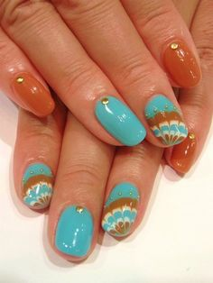 Chic and Easy Fall 2012 Nail Art Designs