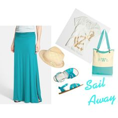 Sail Away by joftex on Polyvore featuring J.Crew, Bobeau, Toast and Ally Fashion
