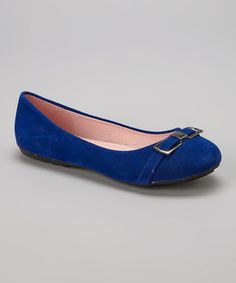 Loving this Royal Clip Flat on #zulily! #zulilyfinds