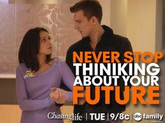Stay strong, April! Never stop thinking about your future. We loved this Lapril moment from the summer finale! | Chasing Life