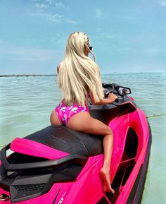 Outdoor jetski Naughty milf