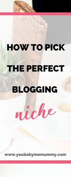 How to pick the perfect blogging niche