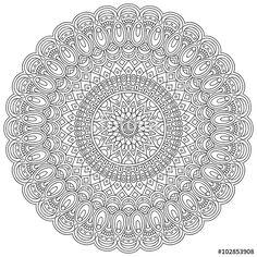 Vector: Vector indian Mandala