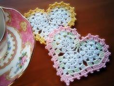 ハートのドイリーの作り方|編み物|編み物・手芸・ソーイング | アトリエ