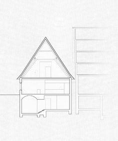 Gallery of Das Waldhorn Restaurant / KO/OK Architektur + Studio Berardi - 18 Kos, 18th, Floor Plans, Architectural Drawings, Studio, Gallery, Design, Stuttgart, Roof Rack