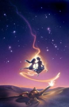 Aladdin Carpet Ride original production color concept art by John Alvin is one of the last images created before his key art for the Aladdin movie poster. Disney Artwork, Disney Fan Art, Disney Drawings, Cute Disney, Disney Dream, Disney Magic, Disney Jasmine, Disney And Dreamworks, Disney Pixar