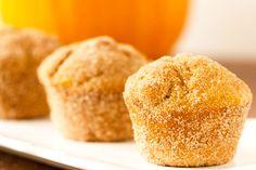 "Pumpkin Doughnut Muffins - The perfect treat to go with Starbuck's ""The Chocolate pumpkin"" Recipe here: http://starbuckssecretmenu.net/starbucks-secret-menu-pick-8-the-chocolate-pumpkin/"