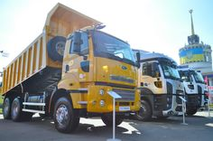 Компания АВТЕК представила грузовые автомобили Ford Trucks на выставке АГРО 2016