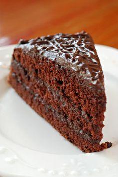 Bolo Embrulhado de Chocolate