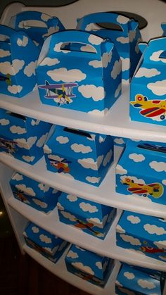 Fun favors at a Airplane birthday  Party!  See more party ideas at CatchMyParty.com!  #partyideas #airplane