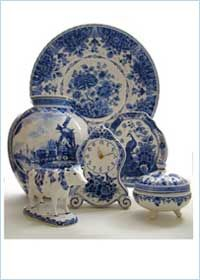 Delft Factory...can never get enough BLUE!