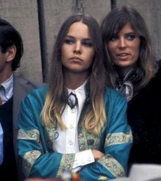 Michelle Phillips of the Mama's & the Papa's (and ?) Monterey Pop Festival 1967