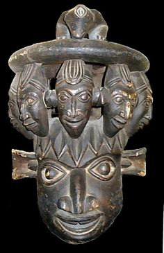 Cameroon Grasslands Mask (front view) | Flickr - Photo Sharing!