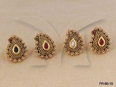 FR-66-19 || Koyari Moti Finger Ring