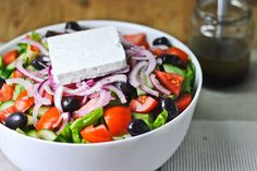 Traditional Greek Salad Recipe from miraclerecipes.com!