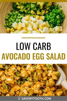 This egg salad with avocado has the best creamy, slightly spicy dressing -- it is basically a deviled egg salad, my favorite recipe twist on a classic and traditional egg salad. Also healthy, and great for anyone on a low carb, keto, whole 30, or paleo diet. It is easy to make hard boiled eggs, either on the stovetop or in the Instant Pot. You can enjoy this egg salad by itself, or in a sandwich or wrap.