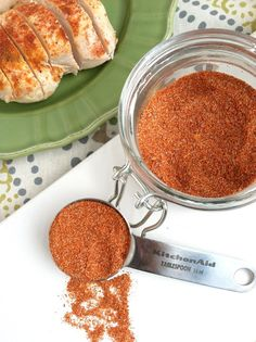Salt-Free Seasoning Mix Ingredients 2 Tbsp paprika 2-3 tsp cayenne pepper 2 Tbsp garlic powder 2 tsp onion powder 1 Tbsp dry mustard 1 tsp cumin Instructions Combine all of the spices in a small bowl. Mix until well combined. Store in an airtight container.