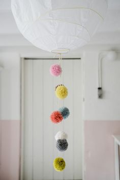 Pom poms making grey days happy — Yvestown