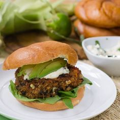 Vegetarian Black Bean Burgers - Simple and Delicous - easy to pack for an over night