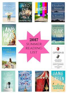 2017 Summer Reading List!