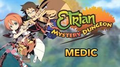 Today Atlus USA released a new trailer showing off another class that will be playable in Etrian Mystery Dungeon and this time around the Medic is focused on.