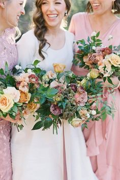 Lush beyond words. 💕 We bet this bundle of memorable shades will inspire your own wedding day palette. To put it simply — @poseypop nailed this arrangement! 💐   Photography: @spostophoto #stylemepretty #weddingflowers #weddingbouquet #bridalbouquet Floral Wedding, Wedding Bouquets, Wedding Flowers, Wedding Day, Wedding Dresses, Guys Read, Big Day, Lush, How To Memorize Things