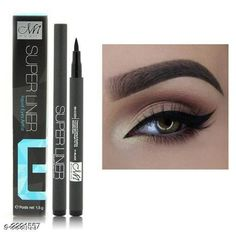 Eyeliners Premium Choice Eye Care Product Product Name: MENOW Super Liner Jet Black Matte Eyeliner Pen    Brand Name: MENOW    Product  Type: Eyeliner Pen    Capacity: 1.8 ml    Shade: Black    Finish Type: Liquid    Package Contains: It Has 1 Pack Of Eyeliner Pen Country of Origin: India Sizes Available: Free Size   Catalog Rating: ★3.9 (4459)  Catalog Name: Eye Makeup Products Vol 1 CatalogID_90983 C178-SC1967 Code: 441-2221557-912