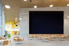 dedicherei una bacheca intera a questo esemplare magnifico di scuola in finlandia, tutti i paesi del mondo dovrebbero averne una uguale a questa! VERSTAS Architects — Saunalahti comprehensive school
