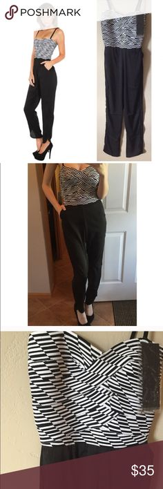 NWT Wow Couture Bandage Jumpsuit Available in S, M, or L. I am modeling the S & I am 5'7. Thick high quality bandage top, casual lightweight pants attached. Super sexy! Accepting any reasonable offer. WOW couture Pants Jumpsuits & Rompers