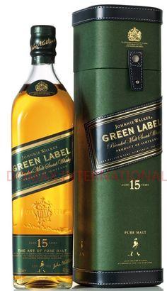 Offering Johnnie Walker Whisky Green Label 700ml