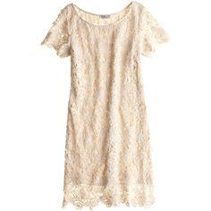 DEBY DEBO Jenny Lace Sheath Dress ($299) ❤ liked on Polyvore