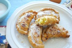 Ecuadorian Sweet Custard, Cheese, and Raisin Empanadas
