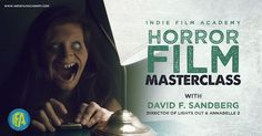 Horror Film Masterclass with David F. Sandberg