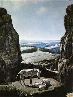 Sleeping Zebra - Carel Willink