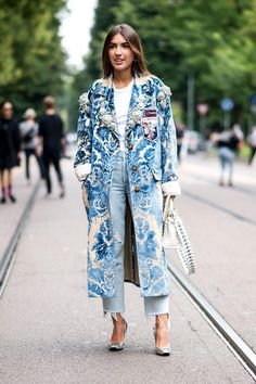 The trends have popped up on both days of the city's fashion week so far.