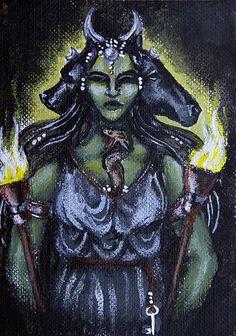 Hekate: Goddess of Crossroads by Hellfurian-Guard on DeviantArt