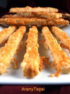 AranyTepsi: Vendégváró sajtos ropogós