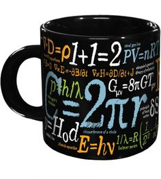 Browse the Museum Store Company and find great deals on museum replicas and gifts including the Math Mug. Get the best prices and receive fixed rate shipping on any purchase of a Math Mug or other gift. Math Genius, Museum Store, Novelty Mugs, Geek Gifts, Coffee Break, Morning Coffee, Mathematics, Cool Stuff, Mugs