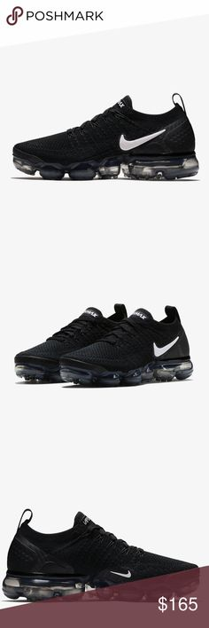 Nike Air VaporMax Flyknit 2 Authentic Brand new No flows Womens Running Shoe Nike Shoes Sneakers