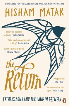 The Return is at once a universal and an intensely personal tale. It is an exquisite meditation on how history and politics can bear down on an individual life. And yet Hisham Matar's memoir isn't just about the burden of the past, but the consolation of love, literature and art. It is the story of what it is to be human.