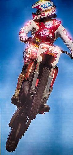 Jmb # Jean Michel Bayle # Honda 22 # motocross us # mx