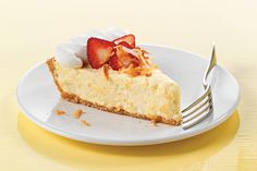 Strawberry-Pina Colada Pie recipe A maybe dessert for Easter Kraft Foods, Kraft Recipes, Pie Recipes, Dessert Recipes, Dinner Recipes, Yummy Recipes, Just Desserts, Delicious Desserts, Yummy Food