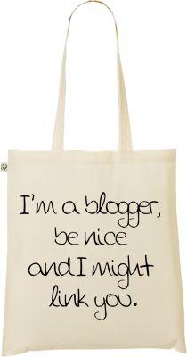 Tote Bag | I'm a blogger..