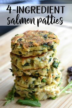 Easy salmon patties This salmon patty recipe is so easy to prepare, quick to cook, and delicious to eat! Canned Salmon Patties, Canned Salmon Recipes, Salmon Patties Recipe, Fish Recipes, Seafood Recipes, Cooking Recipes, Easy Salmon Patties, Oven Recipes, Recipies